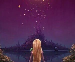 disney, light, and rapunzel image