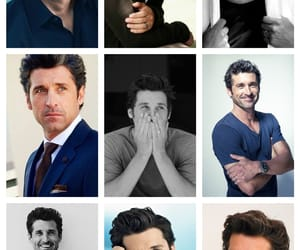Collage, greys anatomy, and hot man image