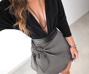 black, fashion, and moda image