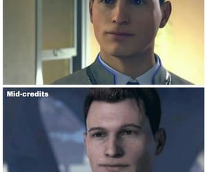 android, Connor, and dbh image