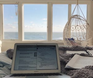 beach, damn, and notebook image