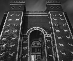 Babylon, iraq, and ishtar gate image