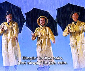 gif, vintage, and singin' in the rain image