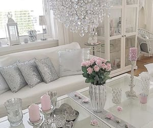 candles, home decor, and living room image