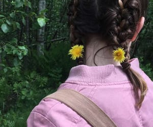 aesthetic, faceless, and flower child image