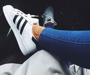 adidas, fashion, and superstar image