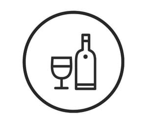 black and white, bottle, and bottles image