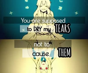 quotes, sad, and kagerou project image