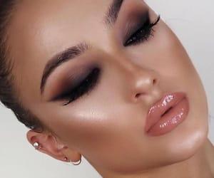 beautiful, beauty, and eybrows image