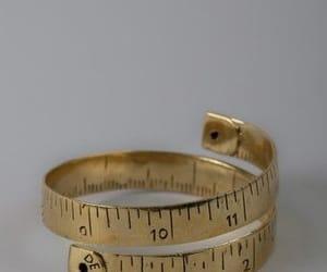ring, bracelet, and gold image