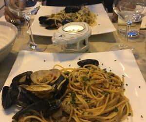 food, seafood, and wanderlust image