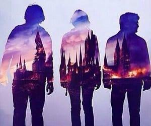 harry potter, hogwarts, and hermione granger image