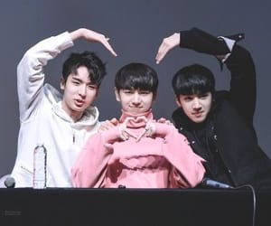 yuto, kino, and pentagon image