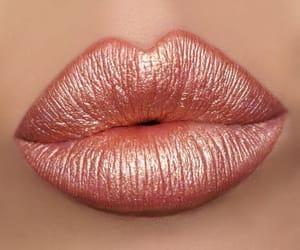 lips, girl, and glitter image