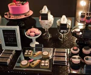 cake, cosmetics, and ideas image