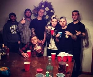 high school, party, and motionless in white image