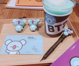bts, rm, and bt21 image