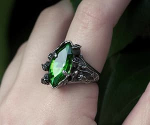 green, aesthetic, and ring image