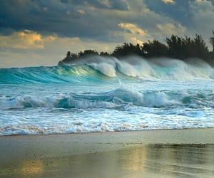 belleza, paisaje, and olas image
