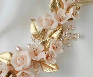 cristal, diamante, and flores image