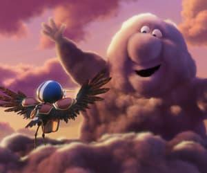 cartoon, pixar, and partly cloudy image