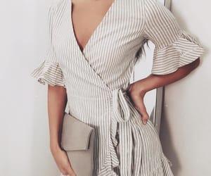 dress and wrap dress image