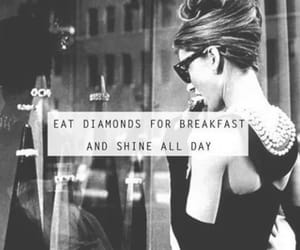 diamond, quotes, and shine image