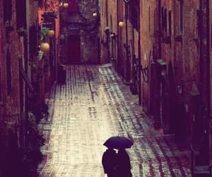 couple, rain, and italy image