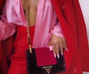fashion, pink, and Prada image