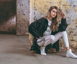 reebok, gigi hadid, and beautiful image