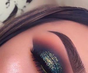 makeup, beautiful makeup, and bomb image