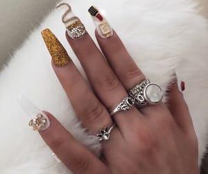 acrylics, nail polish, and want image
