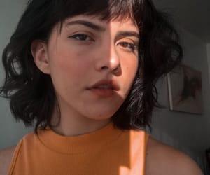 aesthetic, bangs, and beautiful image