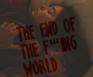cast, serie, and the end of the f world image
