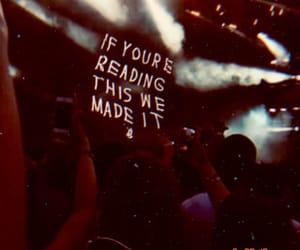 Drake, concert, and grunge image
