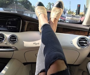 style, car, and chanel image