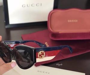 fashion style, lunettes de soleil, and sunglasses gucci image