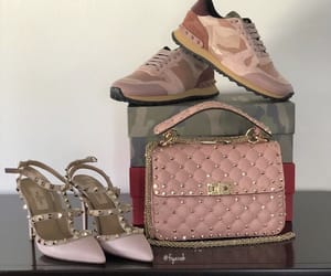 shoes sneakers, fashion style, and valentino garavani image