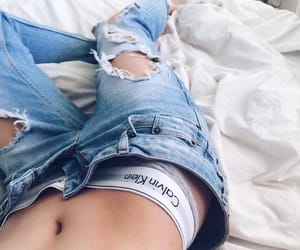 denim, fashion, and luxe image