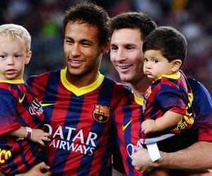 messi, neymar, and cute image