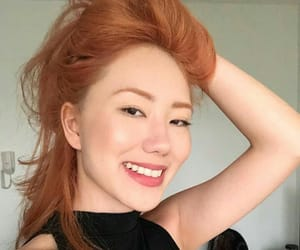 asian girl, ginger, and redheads image