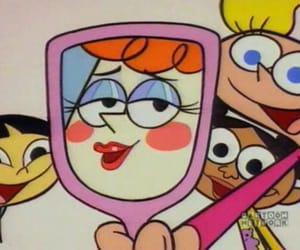 cartoon and Dexter image