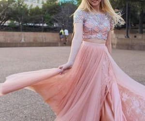 Prom, two pieces prom dress, and 2 pieces prom dress image