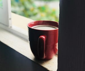 black, cafe, and coffe image