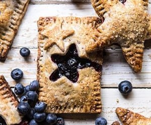 baking, berry, and blueberry image