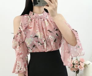 asian fashion, 유행, and blouse image