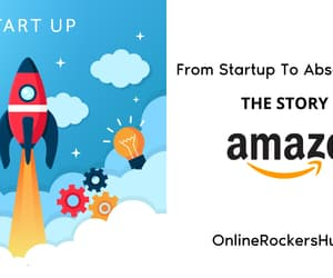 Amazon, startup, and infographic image