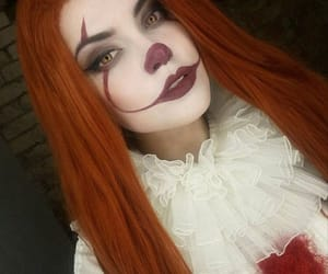clown, Halloween, and it image