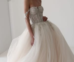 bride, cool, and dress image