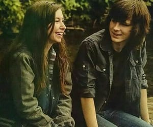 enid and carl grimes image